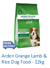 Arden Grange Lamb and Rice Dog Food - 12kg