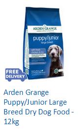 Arden Grange Puppy/Junior Large Breed Dry Dog Food - 12kg